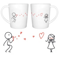 From My Heart To Yours - His & Hers Coffee Mug Set