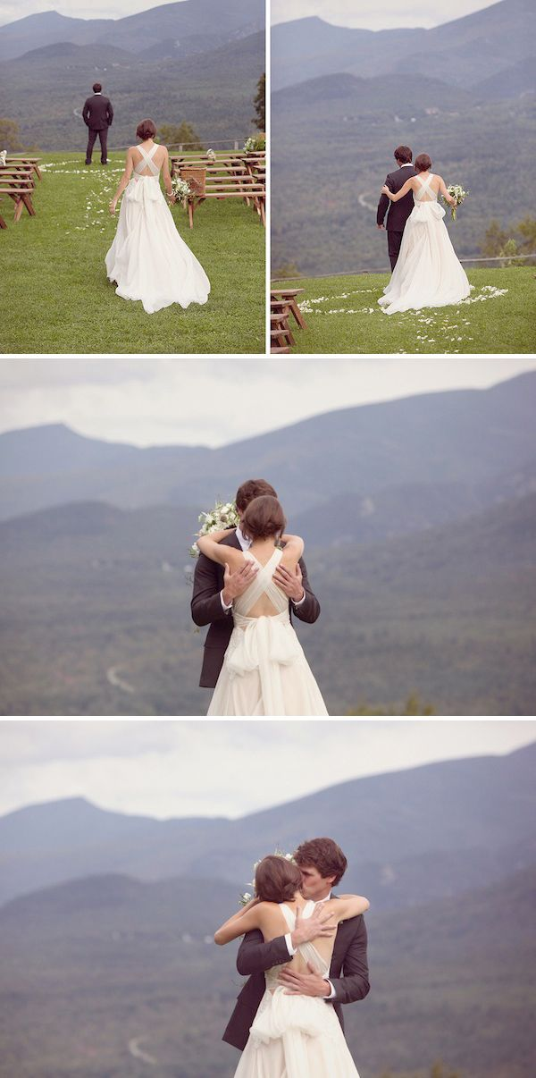 135 best First Look Photos images on Pinterest Wedding pictures