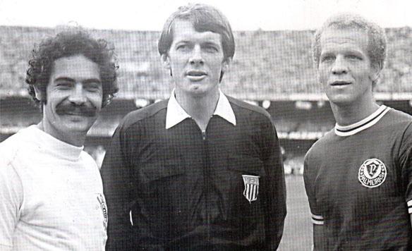 Dois gênios, Ademir e Rivellino e um cara (às vezes de pau) histórico: Dulcídio. Todos na História do Futebol Brasileiro.
