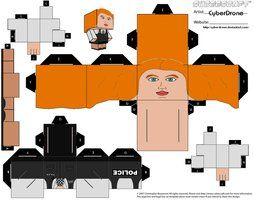 Amelia Pond Doctor Who Custom Cubeecraft Templates by CyberDrone on deviantART #DoctorWho