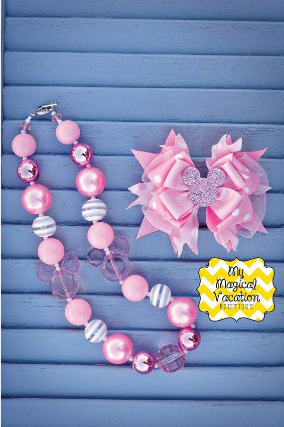 Pink Minnie Mouse Baby Headband, Baby Headband, Disney Bow, Baby Bow, OTT Bow, Disney Headband, Minnie Mouse Bow, Boutique Headband on Etsy, $18.95