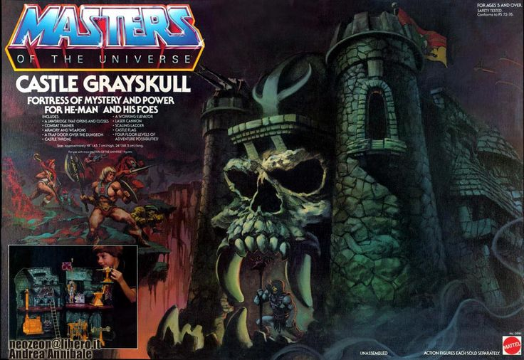 Castle Greyskull - Masters of the Universe