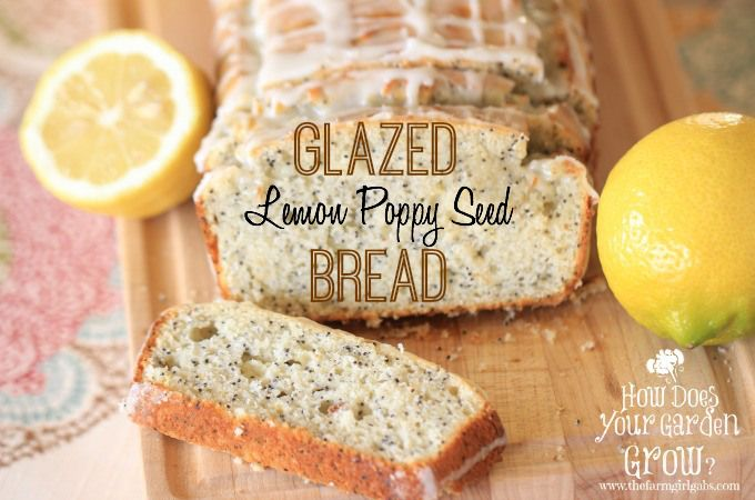 Food blogger Melissa Russo whips up a refreshing Glazed Lemon Poppy Seed Bread that is perfect for breakfast, dessert or snack. Full of flavor, this quick bread packs a delicious lemony punch!