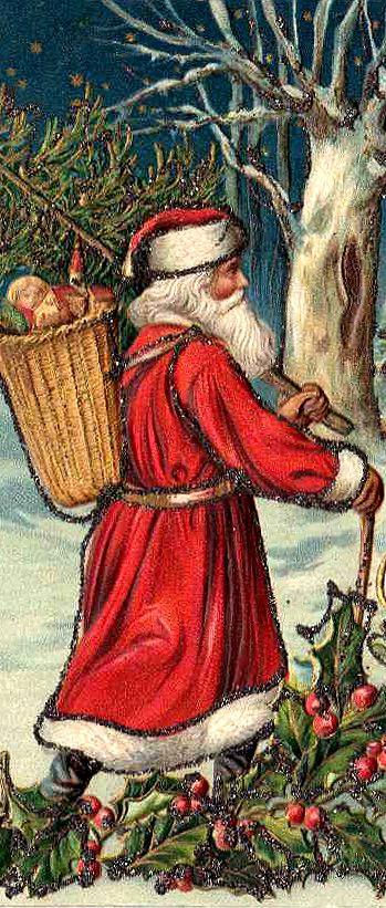 .I love old Santa pictures