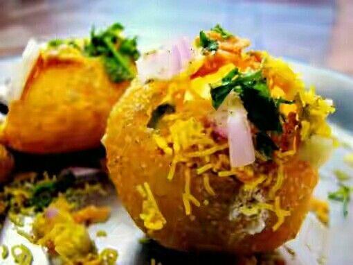 Pani Puri, Gol Gappa, Fast Food, Mouthwatering.