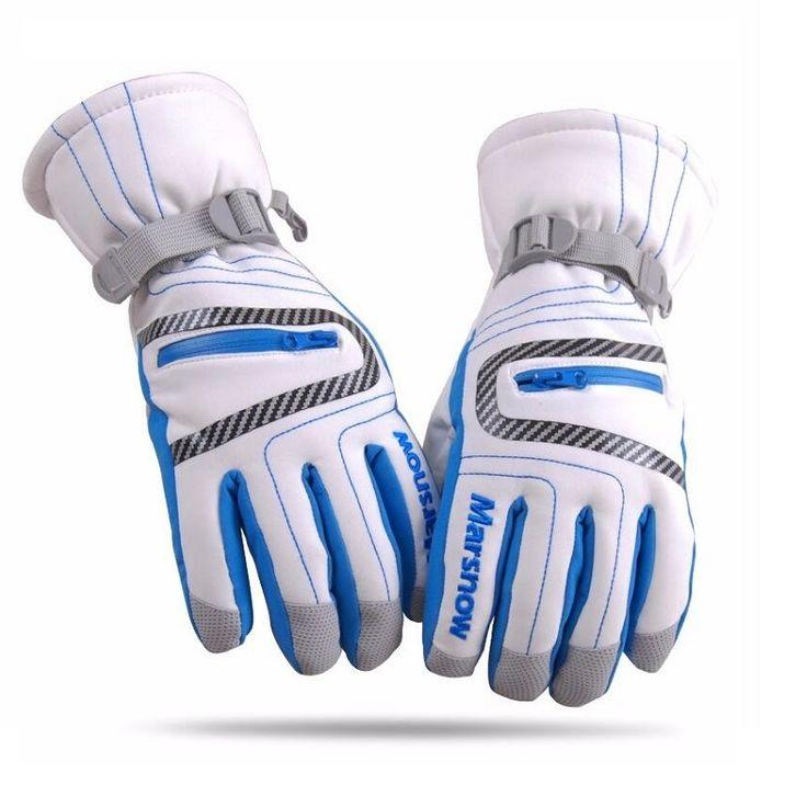 High Quality Ski Gloves Waterproof Warm Unisex Hockey Gloves Winter Outdoor Sport Mountain Skiing Snowboard Gloves for Women Kid