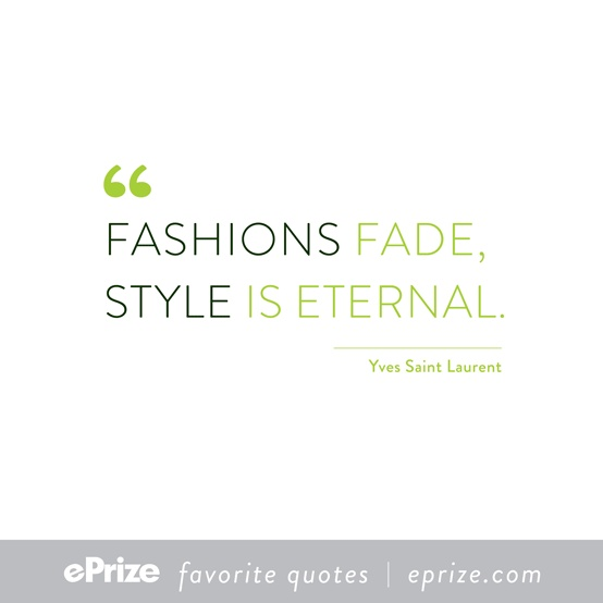 Fashions fade, style is eternal : 10 Styling Tips
