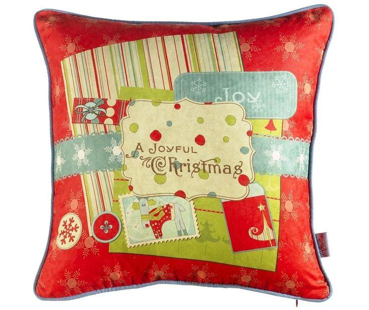 A Joyful Christmas Párnahuzat 43x43 cm - Vivre