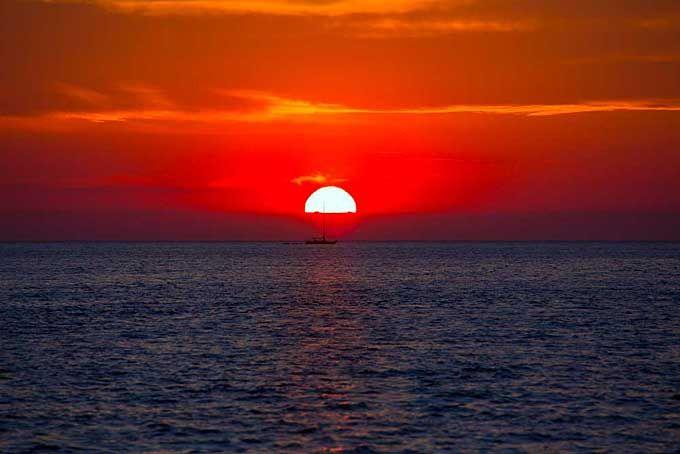 sunset, San Antonio, Ibiza
