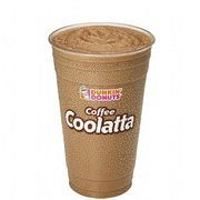 Dunkin Donuts Coffee Coolatta is the ultimate iced coffee. It's not, as some people would have you believe, a coffee milk shake, and it doesn't contain any ice cream. A real Dunkin Donuts Coffee Coolatta contains Dunkin Donuts coffee and frozen Dunkin Donuts coffee, with sugar and milk to taste. While it's not an exact match for a store bought...