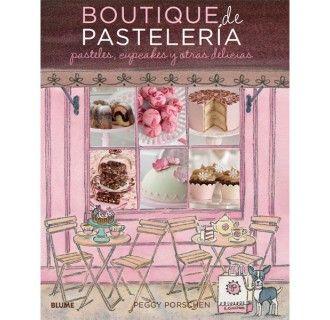 Libro Boutique de pastelería, Peggy Porschen
