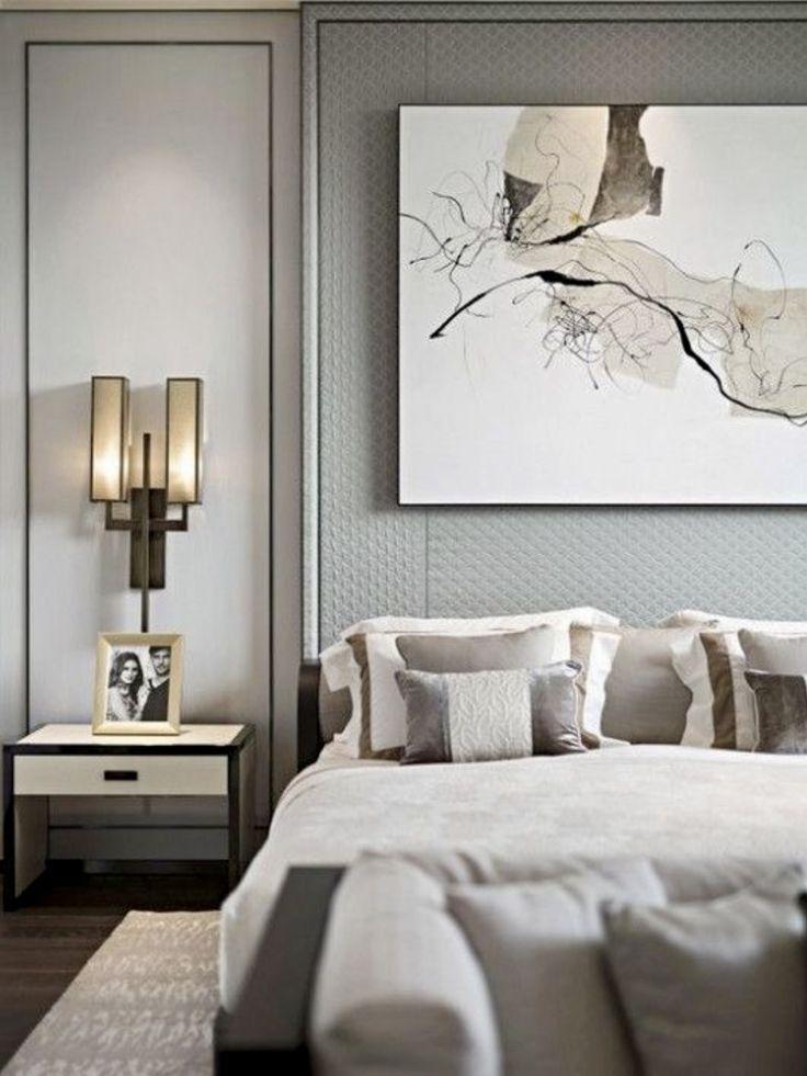 grey style master bedroom habitation elegant bedroom design rh pinterest com