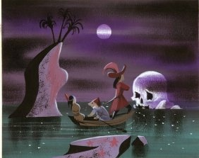 Mary Blair concept for Peter Pan.