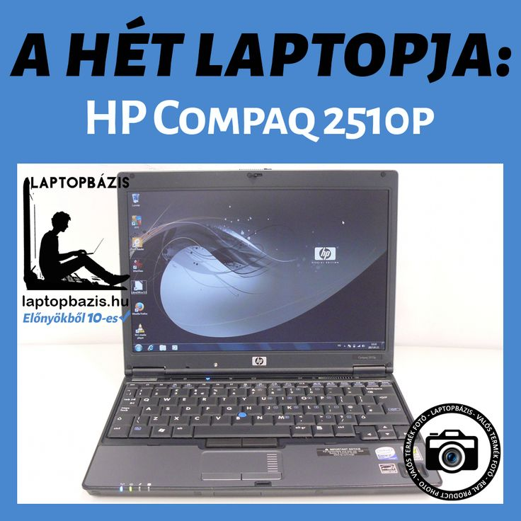 A HÉT LAPTOPJA: HP Compaq 2510p Akciós ár: 29 900.- Ft http://laptopbazis.hu/termek/hp-compaq-2510p-laptop-intel-core-2-duo-u7600-121-lcd-kijelzo-wifi-dvdrom/391
