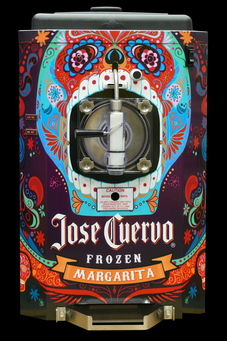 How fabulous does The Jose Cuervo Margarita Machine look! Designed by DRINKSOLOGY.
