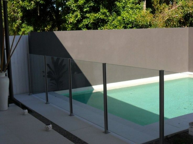 9 best glass pool fencing images on pinterest glass pool for Plexiglass pool fence