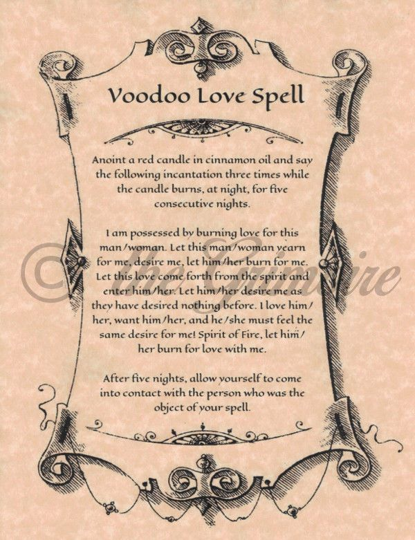 Voodoo Love Spell, Witchcraft, Wicca, Book of Shadows Pages, Like Charmed in Everything Else, Metaphysical, Wicca | eBay