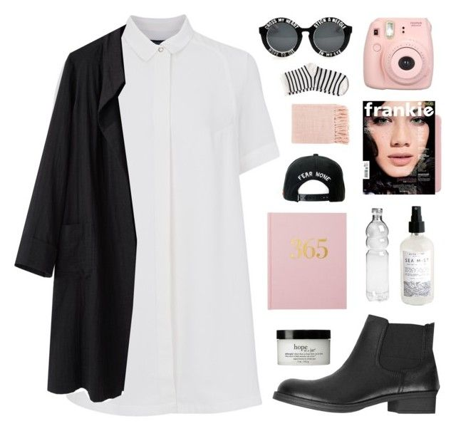 forgive and forget by jesicacecillia on Polyvore featuring French Connection, La Garçonne Moderne, Pieces, ESPRIT, Trukfit, philosophy and Surya