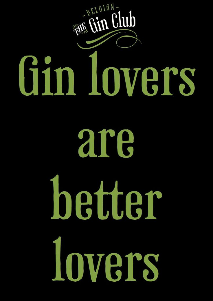 Gin Quote
