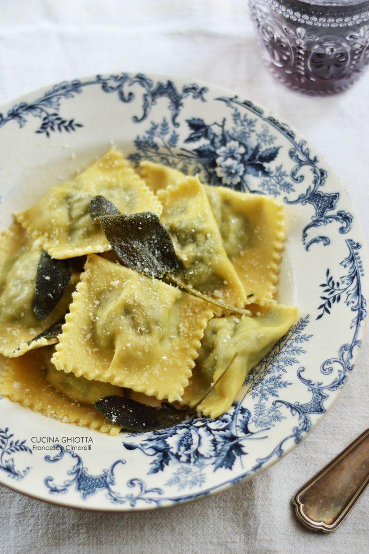 Ravioli ricotta e spinaci: il gusto della semplicità / CUCINA GHIOTTA