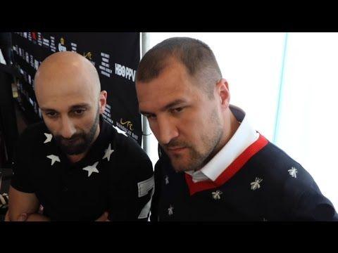Sergey Kovalev gets OWNED at Oakland Presser for Andre Ward Fight