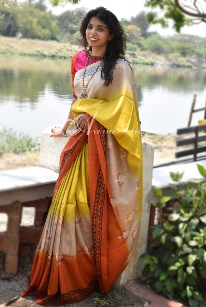 Buy exclusive sarees on Aavaranaa.com weaver's studio. At Aavaranaa we are determined to offer you very unique and beautiful sarees and be a one stop destination for weaving handloom sarees.