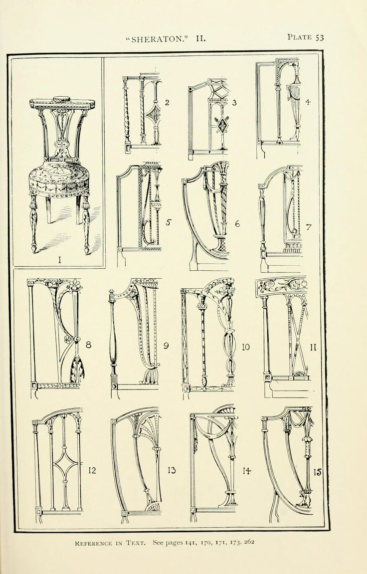 Antique chair styles identification - Style In Furniture