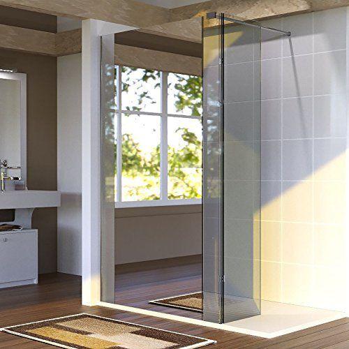 Paroi de douche fixe avec retour 8 mm BAYA – 120+40 cm et miroir: Price:389La gamme de parois de douche à l'italienne BAYA, est conçue en…