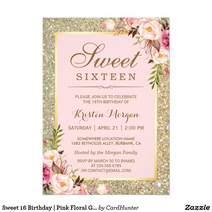 483 best Teens 1317 Birthday Invitations images on Pinterest
