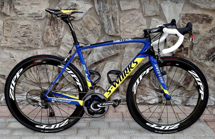 Pro bike: Roman Kreuziger's Specialized S-Works Tarmac SL4 | Road Cycling UK