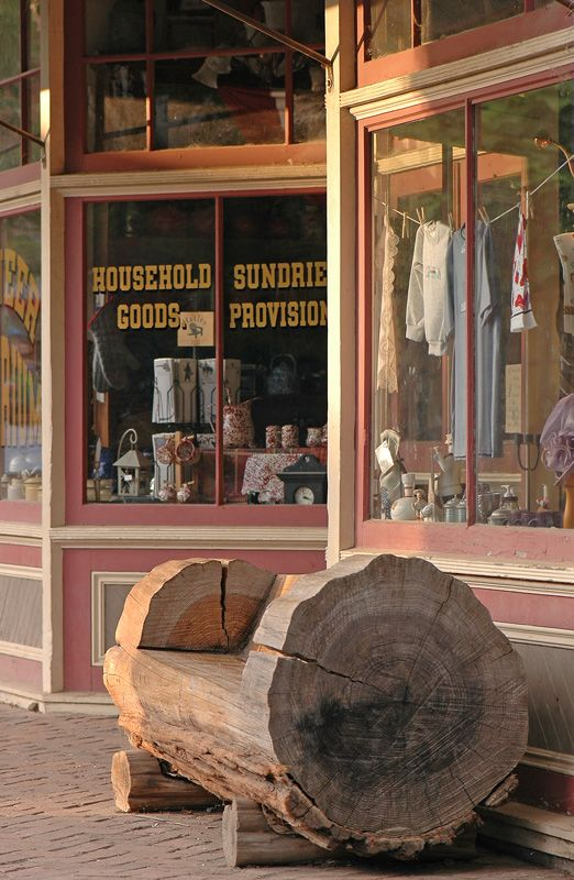 1800s sundry shop in an historic Gold Rush town - Columbia State Historic Park, Tuolumne, California by boonie