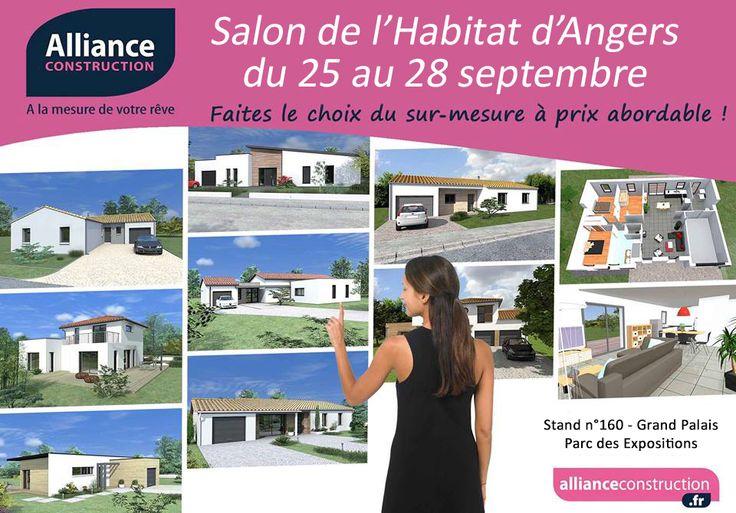 46 best construire en vend e images on pinterest - Salon habitat angers ...