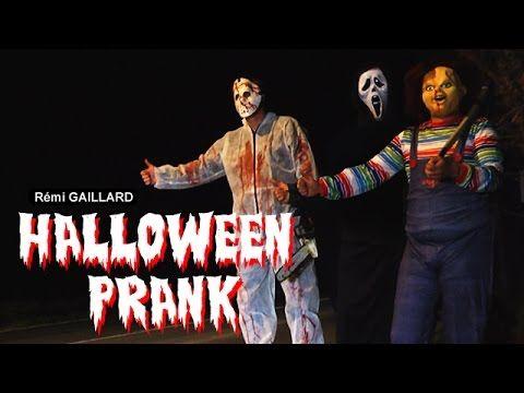 Halloween Prank (Rémi Gaillard) - YouTube