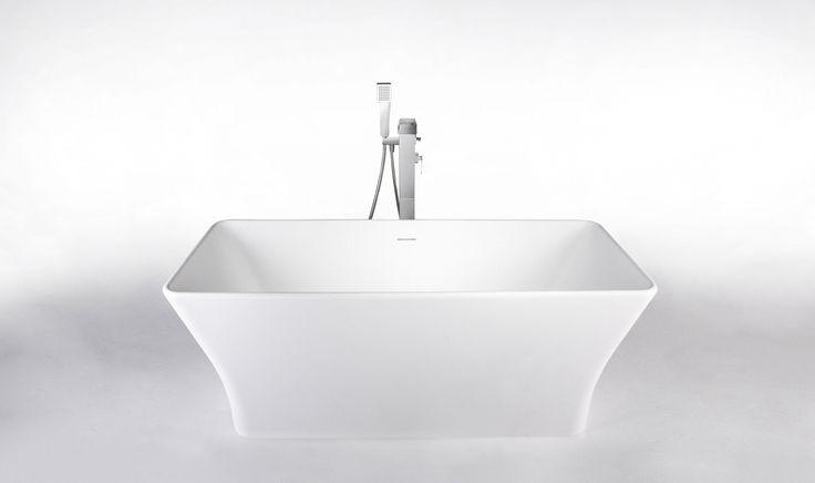 Cube er ett frittstående badekar fra Interform.