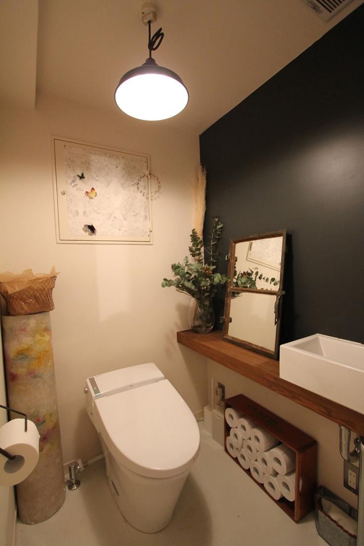 LAVATORY/TOILET/BATH ROOM洗面室/フィールドガレージ