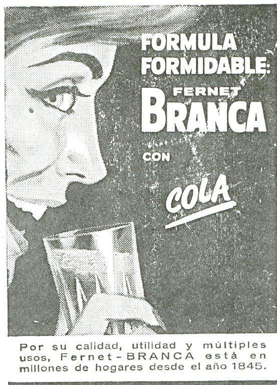 Fernet Branca.