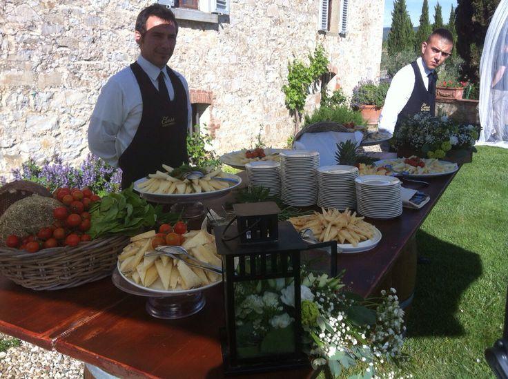 Cheeses corner - Class Ricevimenti - Castello di Meleto