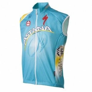 Moa Astana Pro Team Gilet - Store For Cycling