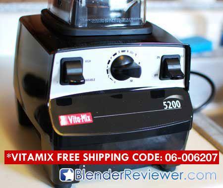 VitaMix 5200 Closeup