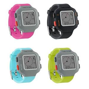 Pick of the Week: NEW! Time Timer Watches in Bright Colors. The Time Timer Watch PLUS allows you to visually see how much time has elapsed while simultaneously displaying the actual time. It has a sporty design and uses simple icons and a large display to ensure ease of use for all age and ability levels.
