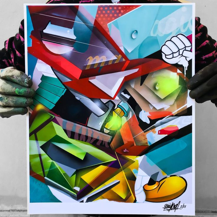 """Image of Limited Edition print HelioBray x Hahnemühle fine art """"GRAND MASTER FLASH"""" 1/25"""