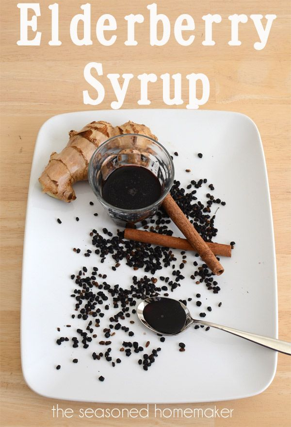 Elderberry Syrup (Natural Flu Tonic) Recipe                                        Ingredients1/2 C. Organic Dried Elderberries 3 1/2 C. Distilled Water 1 Organ...