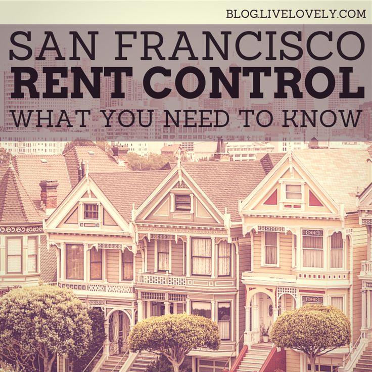 SF rent control legislation - http://bornsteinandbornstein.com