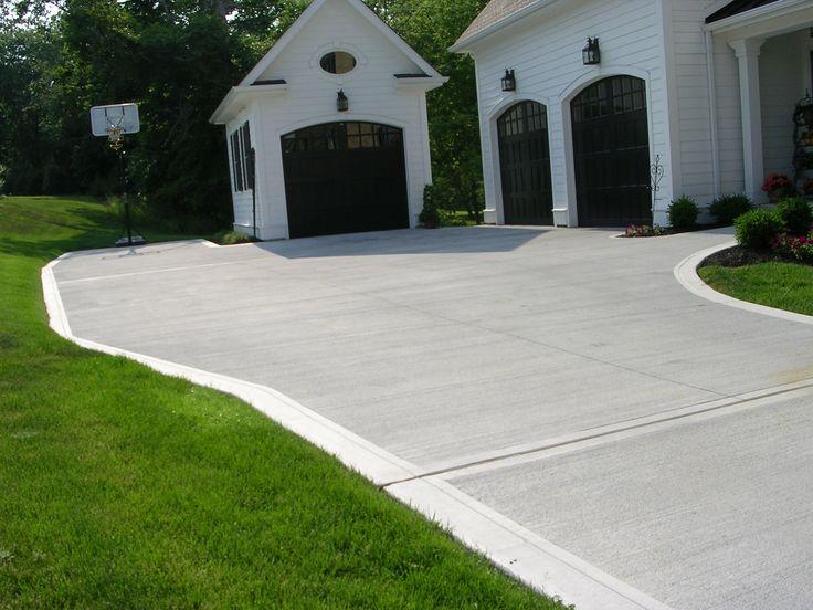 83 Best Concrete Driveways Images On Pinterest Concrete