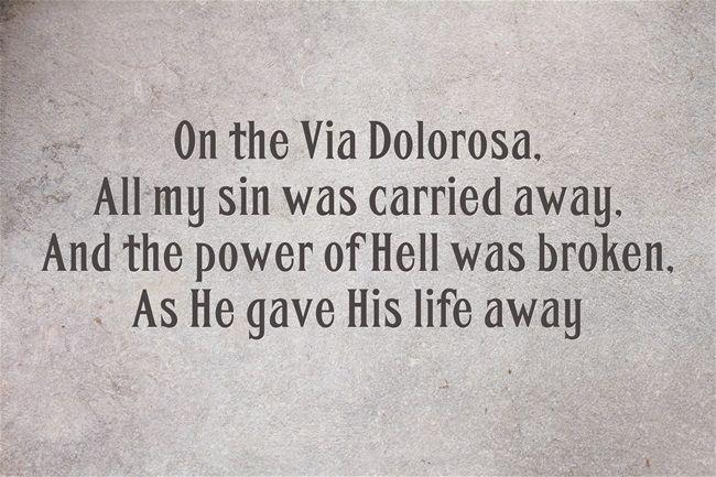 Via delorosa lyrics
