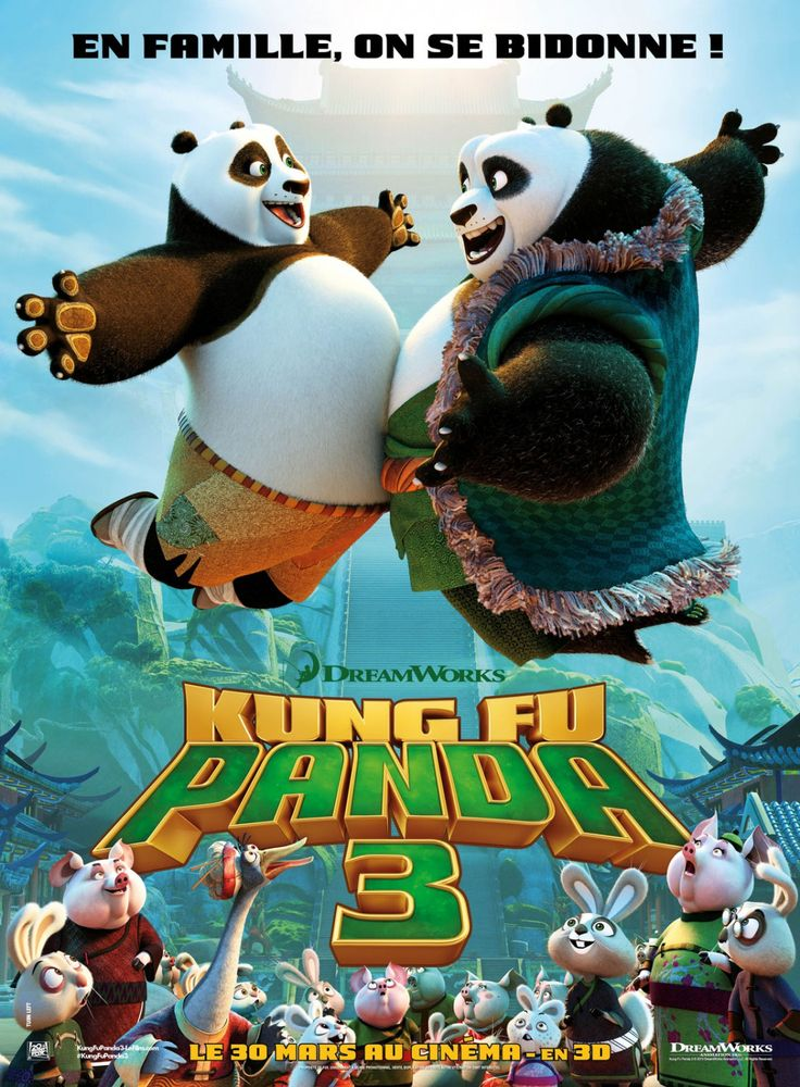 Image of Download Kung Fu Panda 3 (2016) BluRay, HDrip, Web-dl Subtitle Indonesia