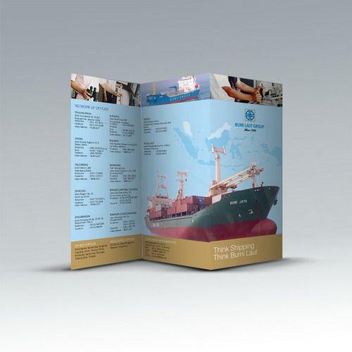 Desain brosur Bumi Laut Group. www.simplestudioonline.com