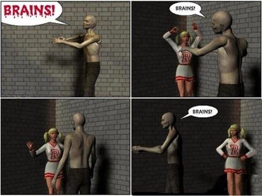 Zombie humor…love it!