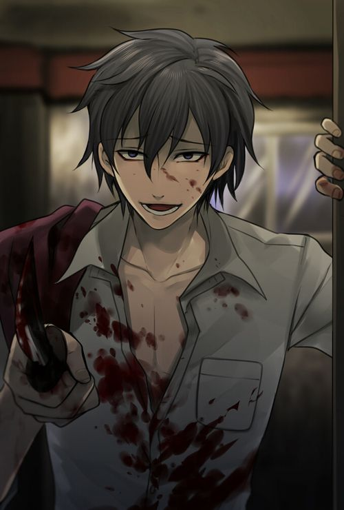 """Run rabbit run."" Corpse Party -- So I watched Cryaotic play a walkthrough of this. And there's an anime that ends differently. I WOULD BE TOO SCARED TO PLAY/WATCH EITHER ;A; omfg"