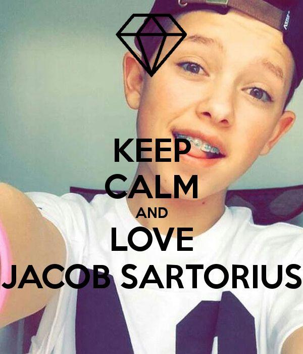 KEEP CALM AND LOVE JACOB SARTORIUS Poster | suprunal | Keep Calm-o ...